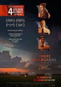 Filmplakat: Three Billboards Outside Ebbing, Missouri