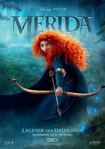 Filmplakat: Merida - Legende der Highlands