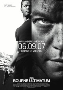 Filmplakat: Das Bourne Ultimatum