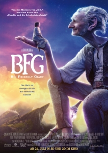 Filmplakat: BFG - Big Friendly Giant