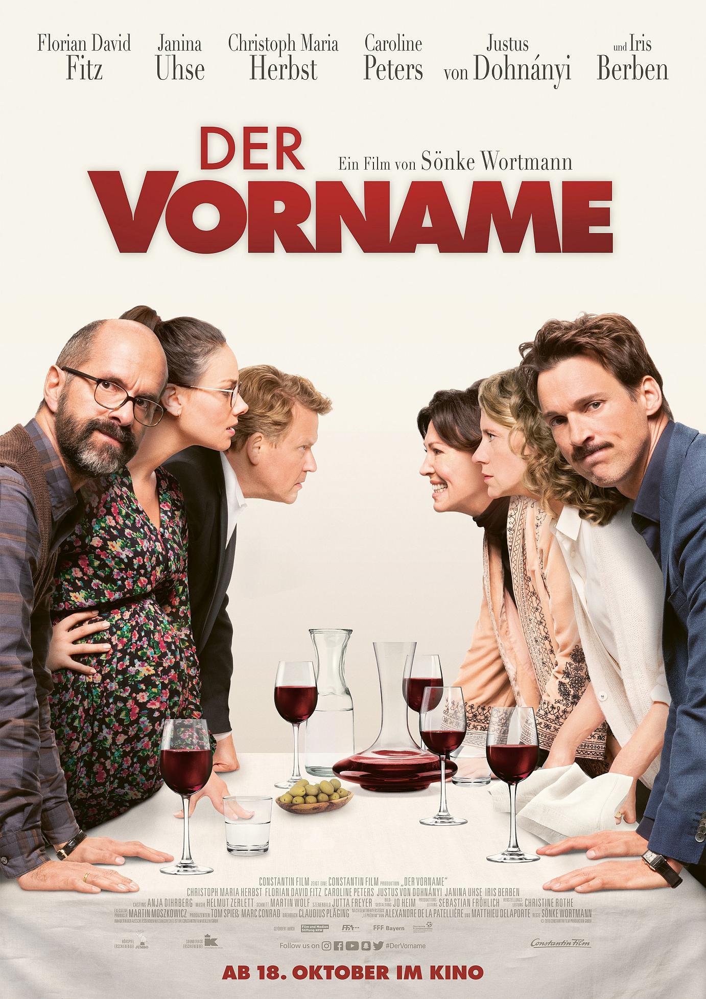 Film » Der Vorname | Deutsche Filmbewertung und Medienbewertung FBW