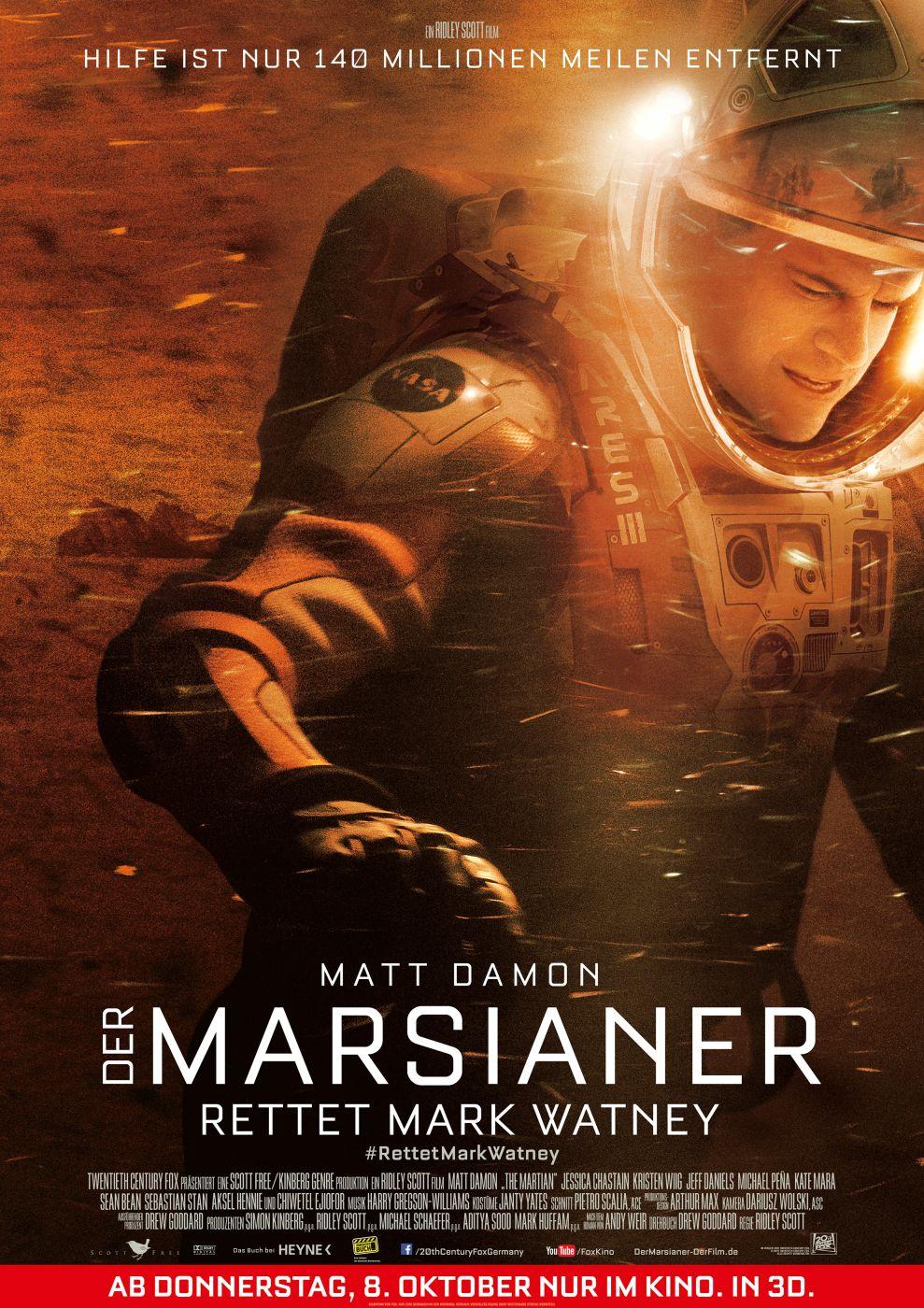 Der Marsianer Kritik