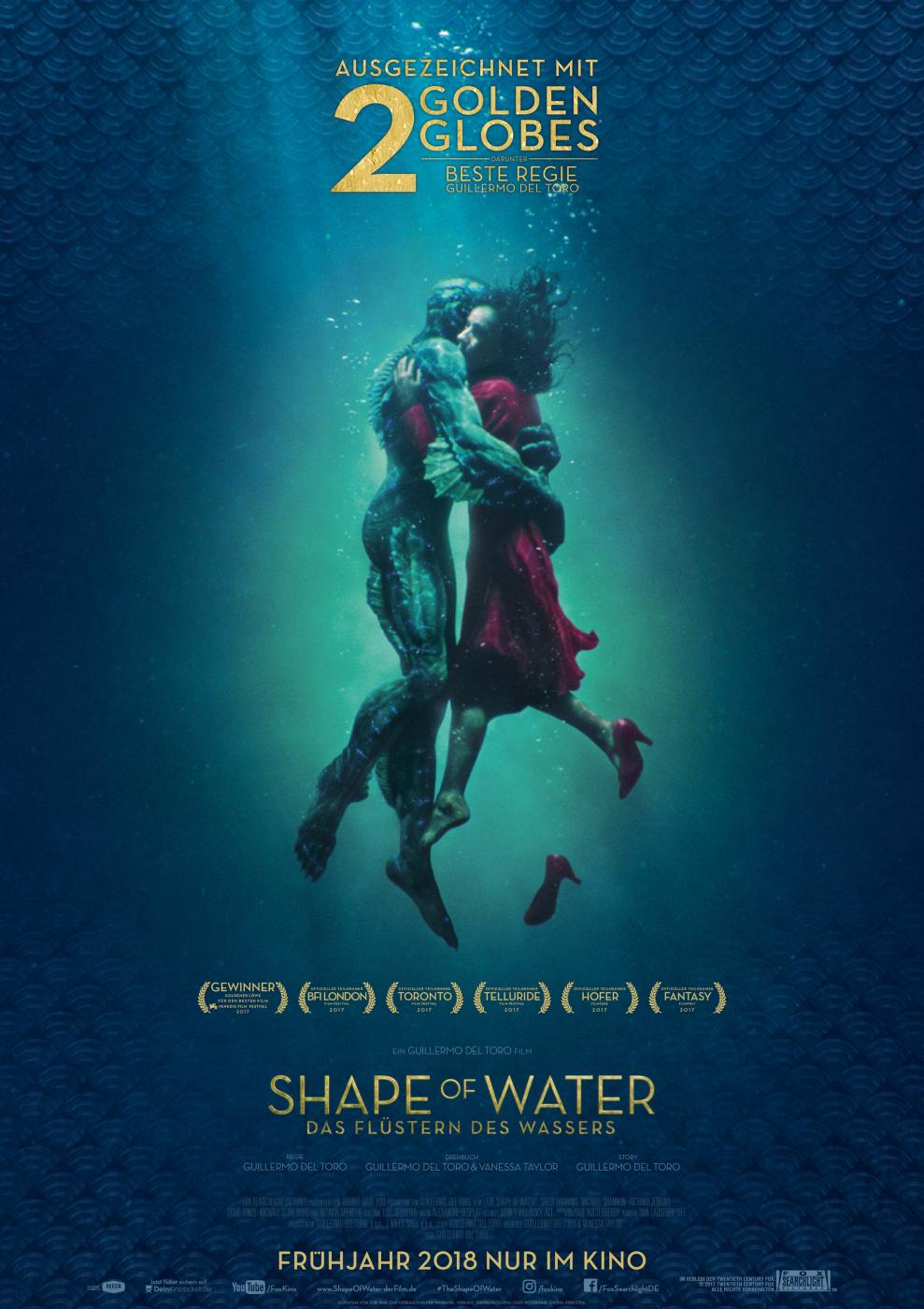 Shape Of Water Kinostart
