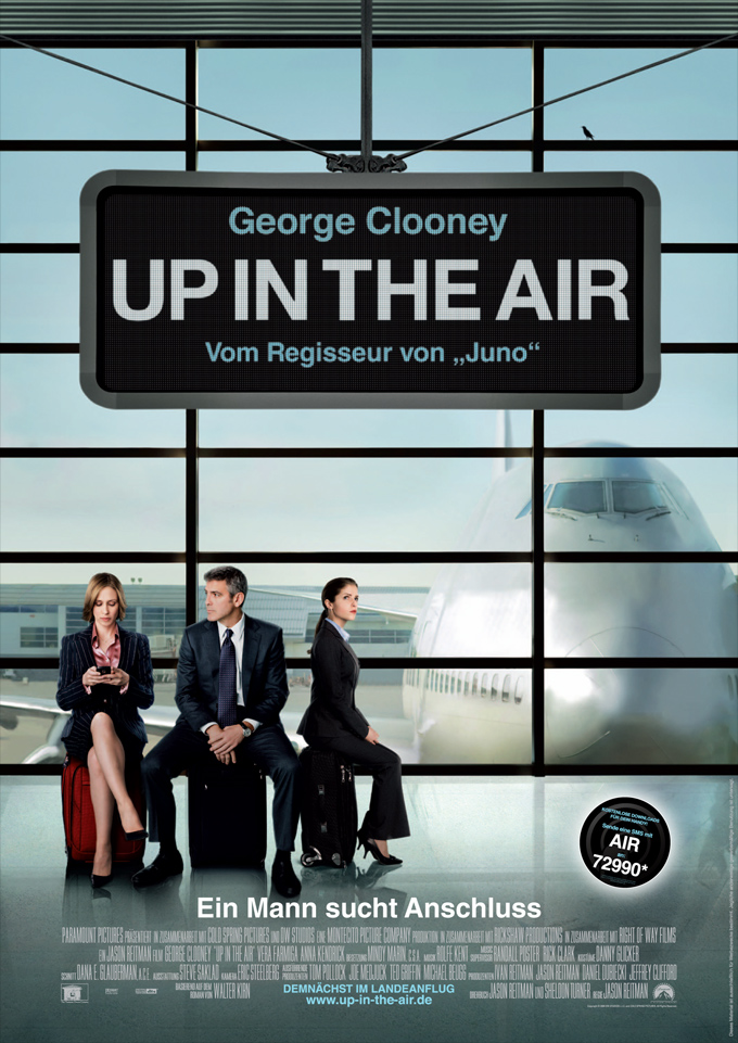Film   Up in the Air Up In The Air Dvd Cover