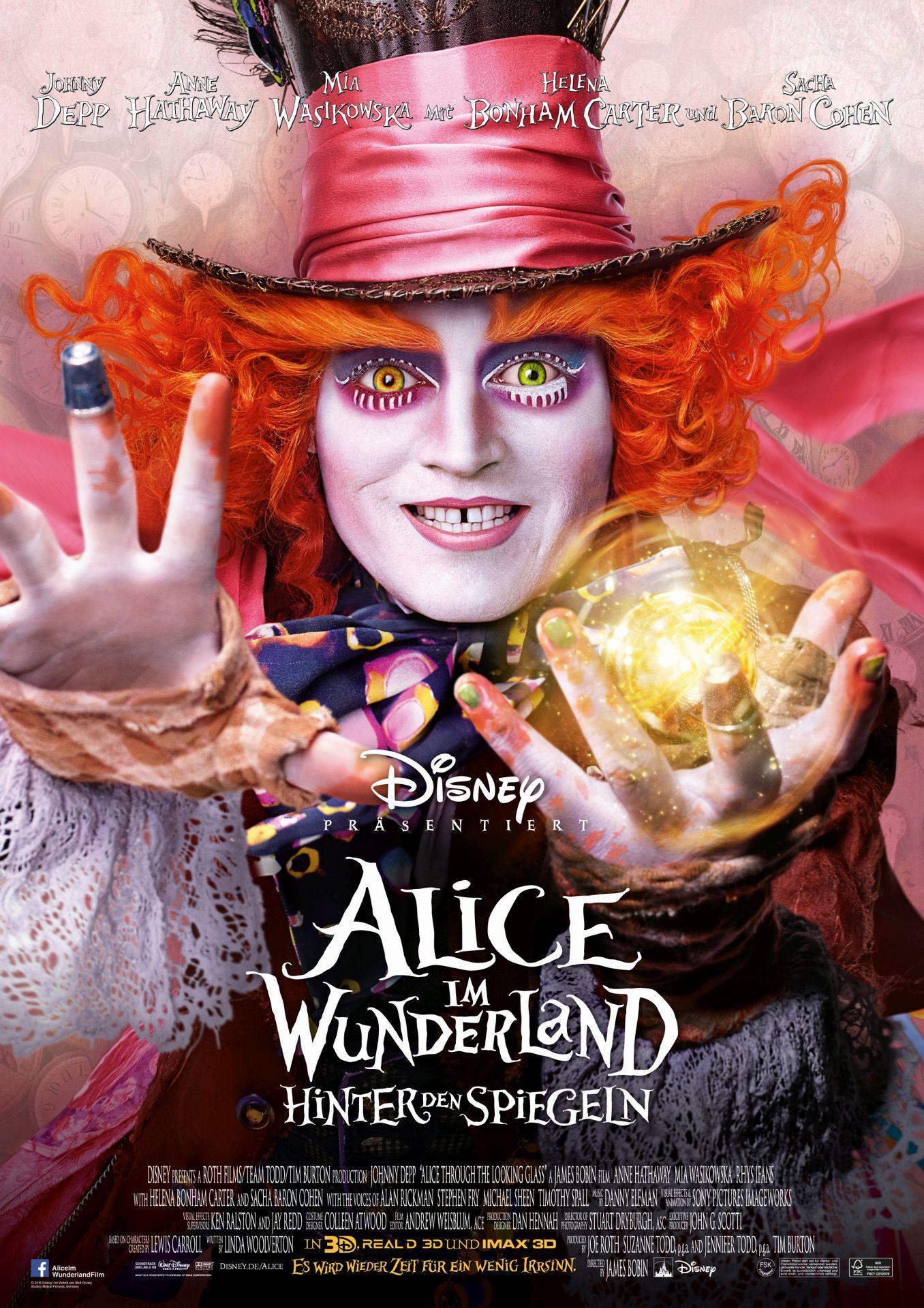 Film Alice Im Wunderland Hinter Den Spiegeln Deutsche