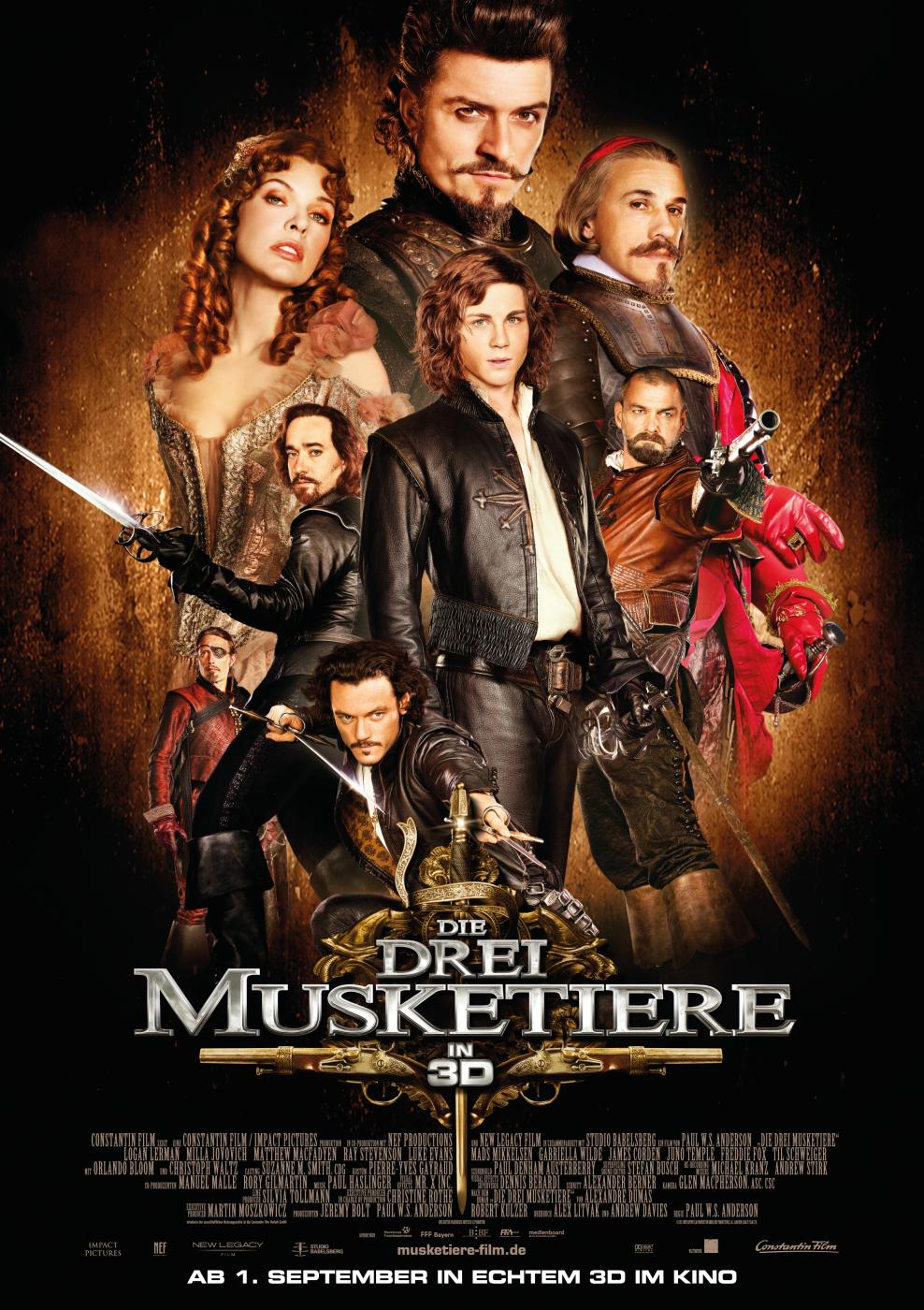 Die 4 Musketiere
